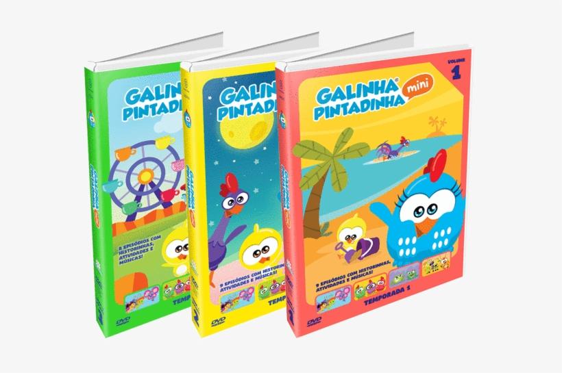 Combo Dvds Galinha Pintadinha Mini Vol - Dvd Galinha Pintadinha Mini - Temp.1 - Vol. 1, transparent png #4731337