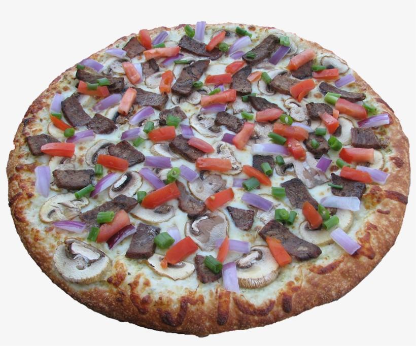 Bona Steak Pizza - California-style Pizza, transparent png #4734443