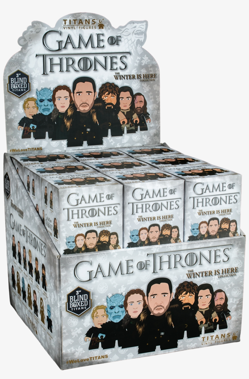 Game Of Thrones - Titan Figures Game Of Thrones, transparent png #4739108