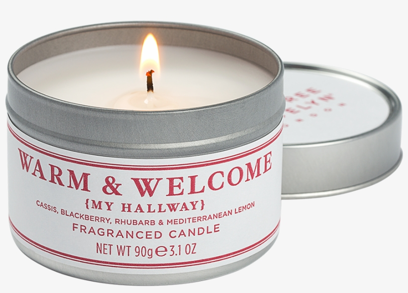 Warm & Welcome Travel Candle - Crabtree & Evelyn Champagne
