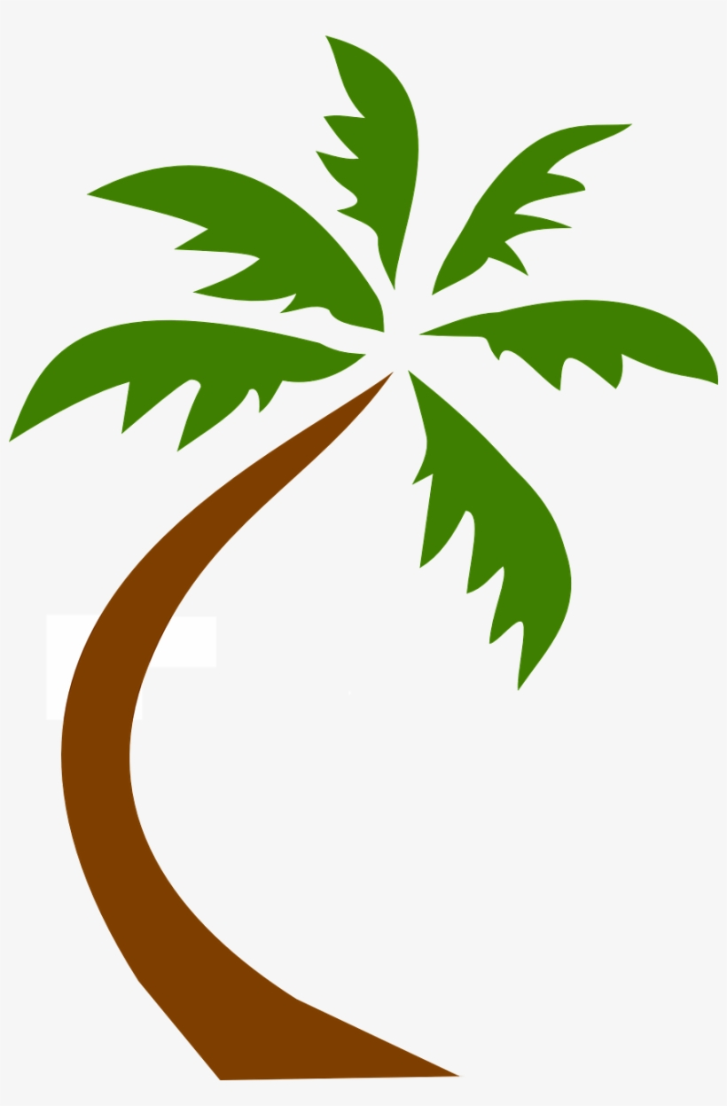 Coconut Tree Tropical Palms Png Image - Palm Tree Clip Art Png, transparent png #4740547