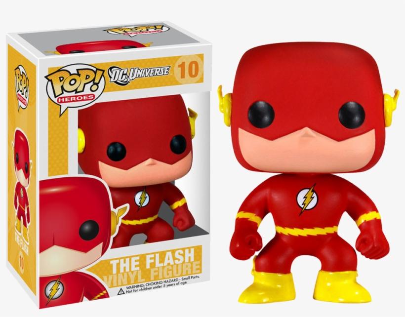 Pop Figure Dc Flash - Dc Comics The Flash Pop! Vinyl Figure, transparent png #4741524