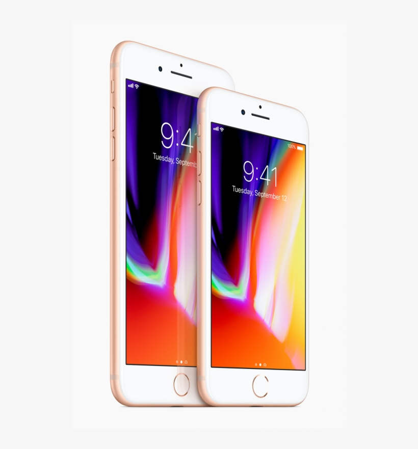 Iphone 8 Plus 256gb Gold - Iphone 8 Compared To Iphone 8 Plus, transparent png #4744982