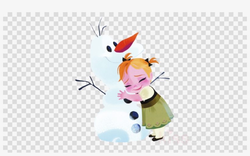 Download Little Anna Frozen Png Clipart Elsa Anna Olaf - Anna Frozen Book, transparent png #4747696