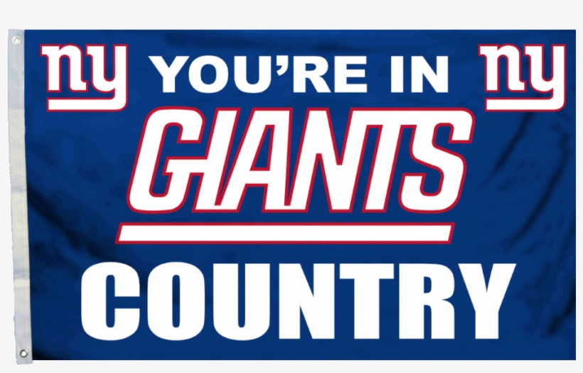 Nfl New York Giants 3' X 5' Country Flag - New York Giants Game, transparent png #4748615