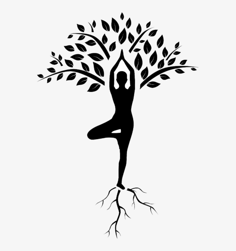 Yoga Tree Pose Drawing