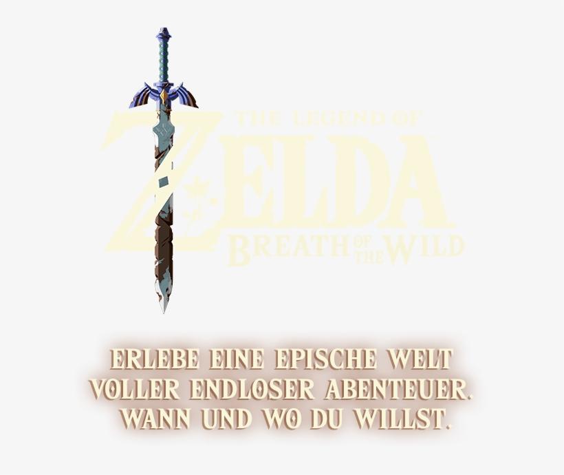 Legend Of Zelda Breath Of The Wild Master Sword, transparent png #4750704