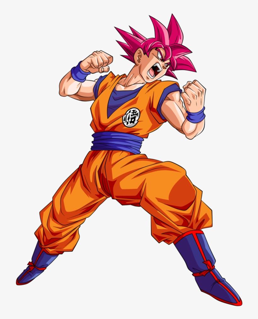 Dragon Ball Png Pluspng - Fateful Strike Super Saiyan God Goku, transparent png #4750865