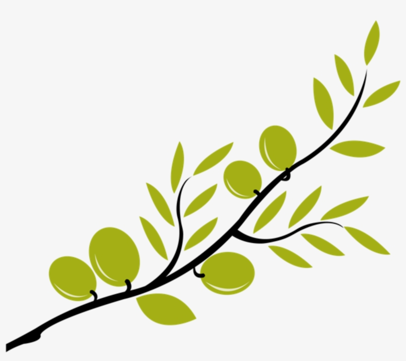 Download Clipart Free Download Cute Files Free Svgs - Olive Tree Branch Clip Art, transparent png #4751203