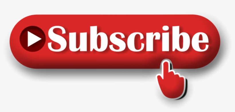 3d Subscribe Button Png Image Transparent Background - Subscribe Png Logo, transparent png #4754426