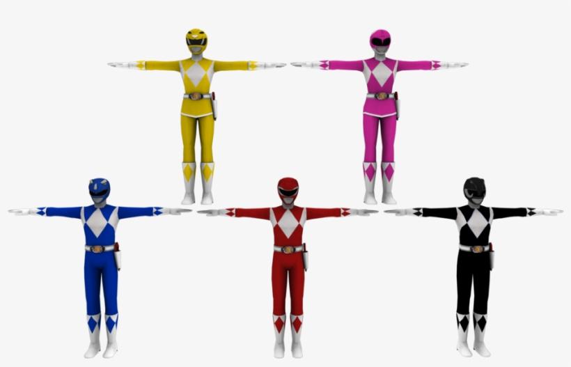 Power Rangers 3d Model - Power Rangers 3d Models, transparent png #4754884