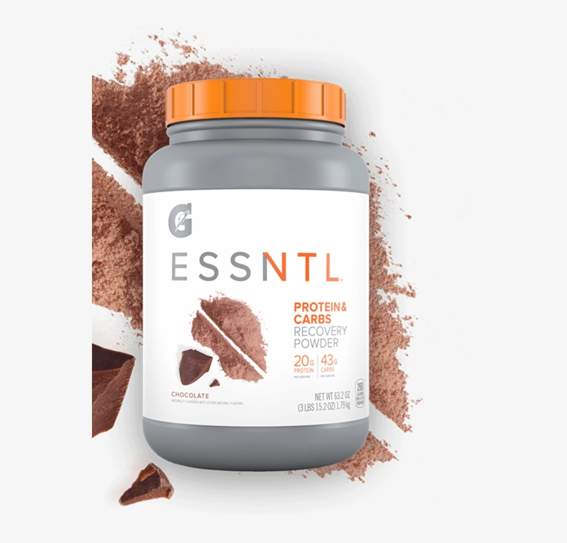 Gatorade Essntl Chocolate Protein And Carbs - Whey Protein Isolate, transparent png #4757222