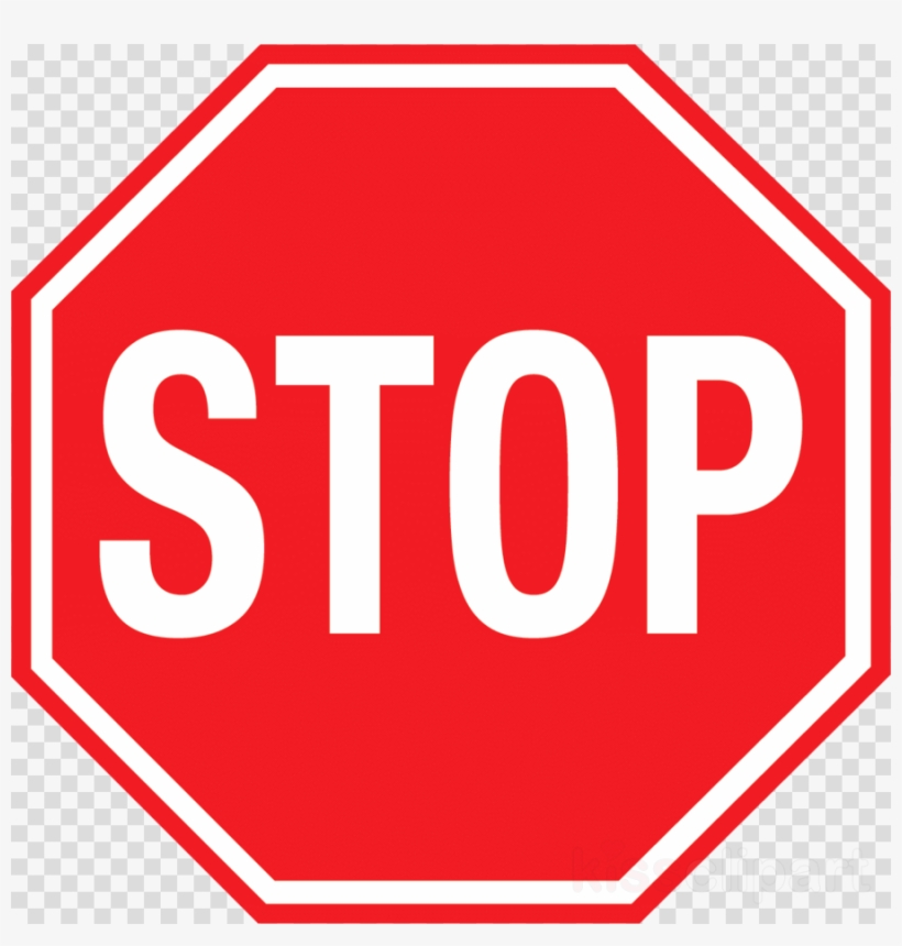 Adblock Plus Logo Clipart Stop Sign Red - Road Sign Stop Png, transparent png #4759783