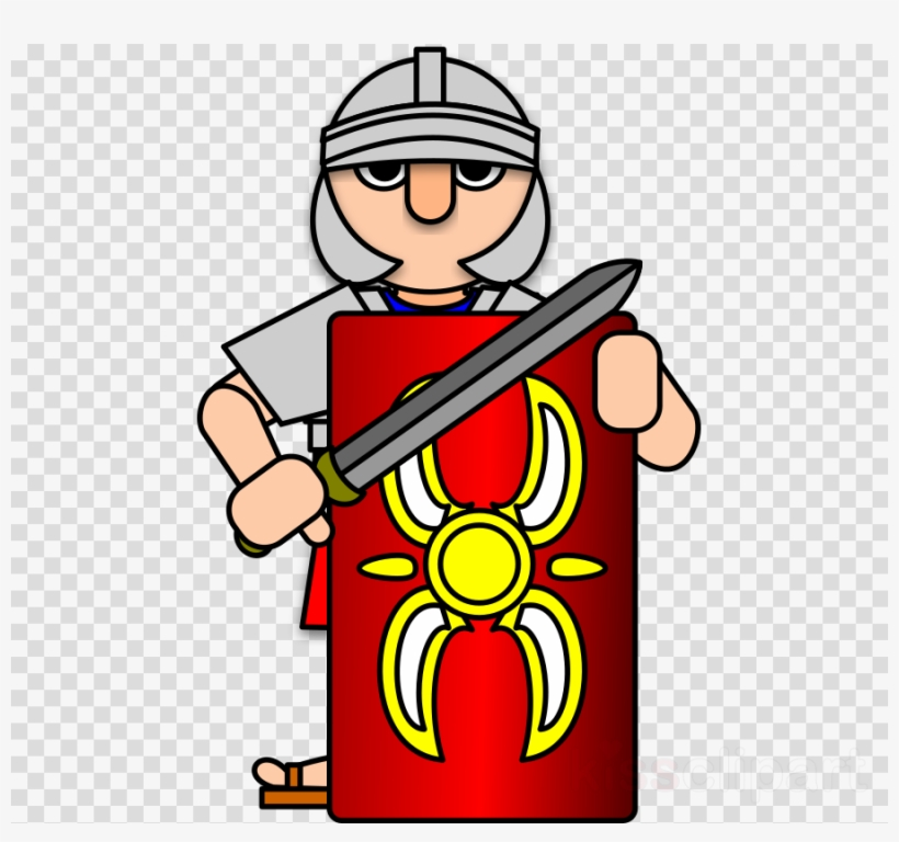 Download Roman Soldier Clipart Ancient Rome Roman Army - Roman Army Clip  Art - Free Transparent PNG Download - PNGkey