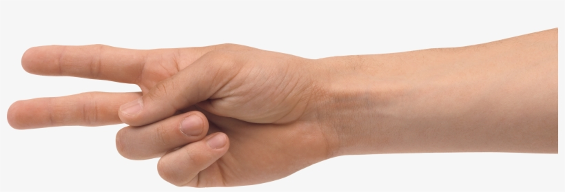 Two Finger Hand Png Image - Two Finger Png, transparent png #4765473