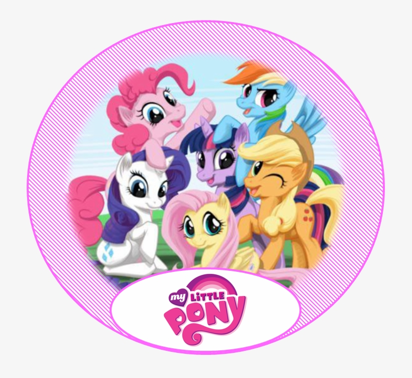 My Little Pony Birthday Party Thank You Favor Tags - My Little Pony Friendship, transparent png #4768231