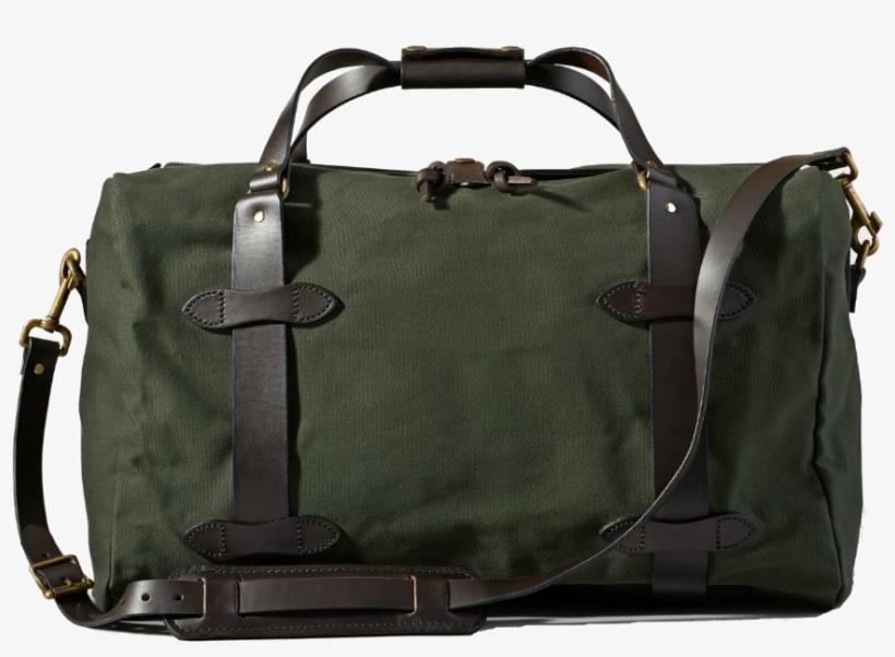 Medium Duffle Bag - Filson Medium Carry-on Duffle Bag - Otter Green, transparent png #4769349