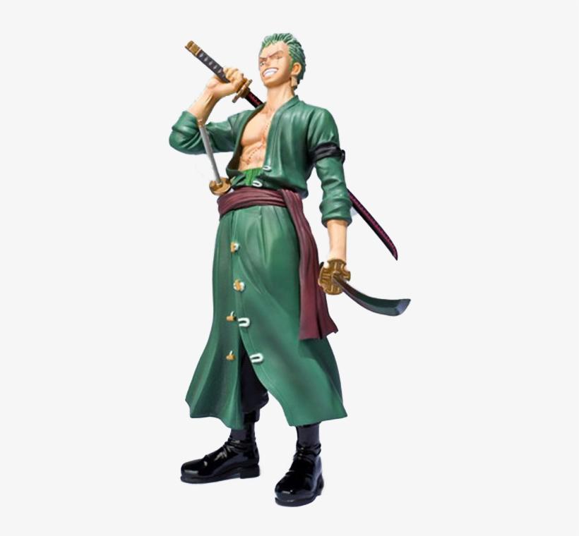 Action Figure One Piece R$ 99,99 Buy - One Piece Figuarts Zero Statue Roronoa Zoro (new World), transparent png #4777459