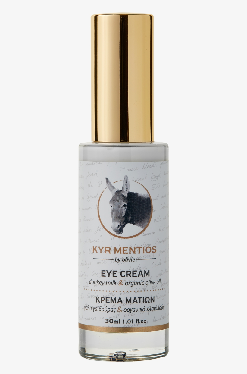 Kyr Mentios Donkey Milk Eye Cream With Organic Olive - Olive Oil, transparent png #4777572