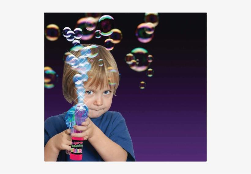 Inside The Bubbleizer Body, Then Pour Out By The Thousands, - Can You Imagine Light-up Bubbleizer, transparent png #4778009