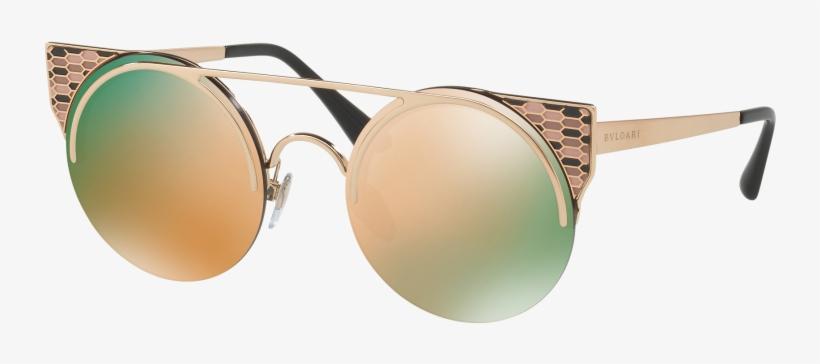 Serpenti Sunglasses By Bulgari - Bvlgari 6088 Sunglasses, transparent png #4778468