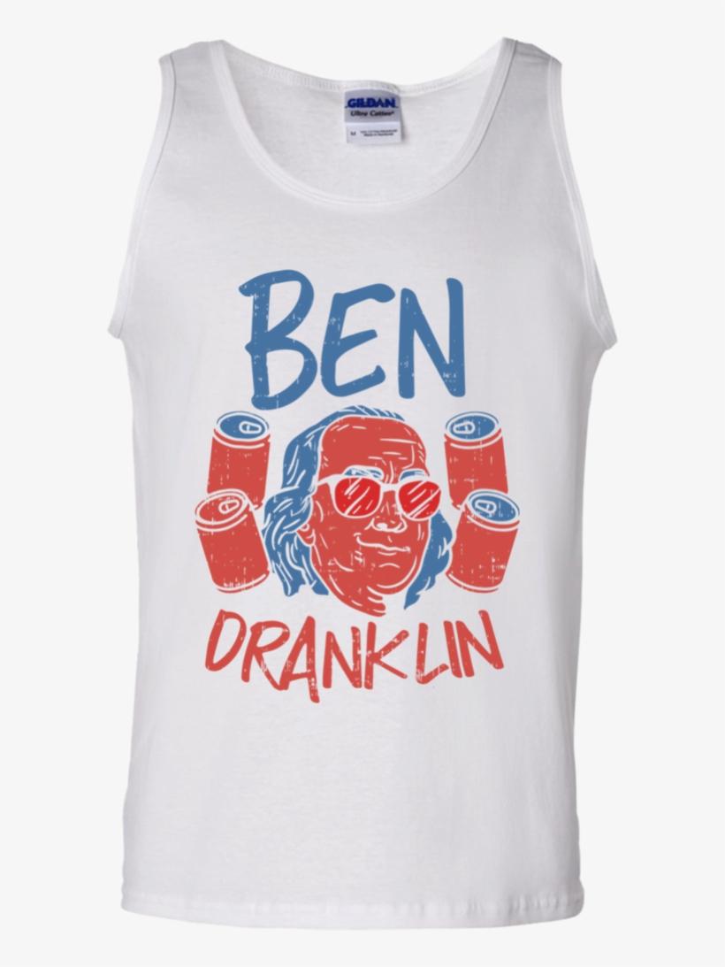 4th Of July Shirts For Men Ben Drankin Benjamin Franklin - Gucci T Shirt Tiger, transparent png #4784032