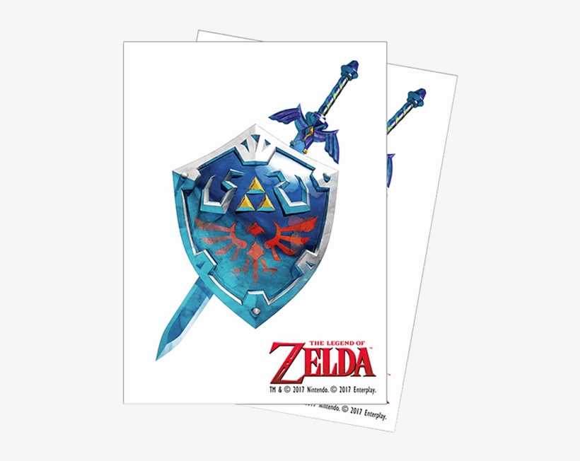 Shield And Sword Png - Legend Of Zelda Breath Of The Wild Sword And Shield, transparent png #4787760