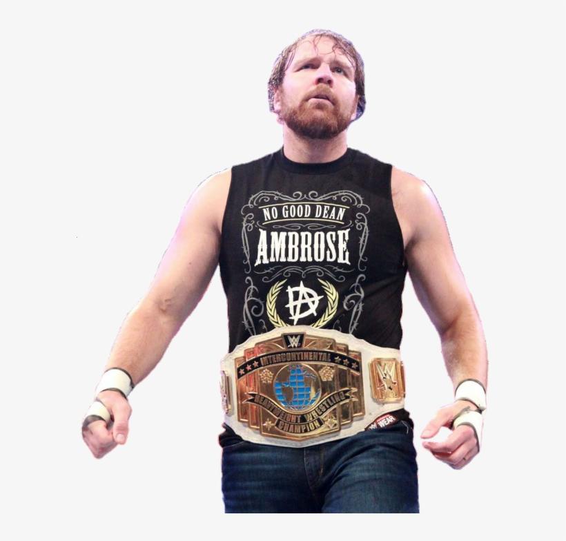 Roman Reigns, Dean Ambrose, Champs, - Dean Ambrose, transparent png #4793293