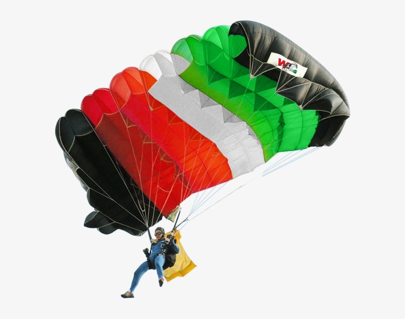 Parachuting - Guy In Parachute Png, transparent png #4797163