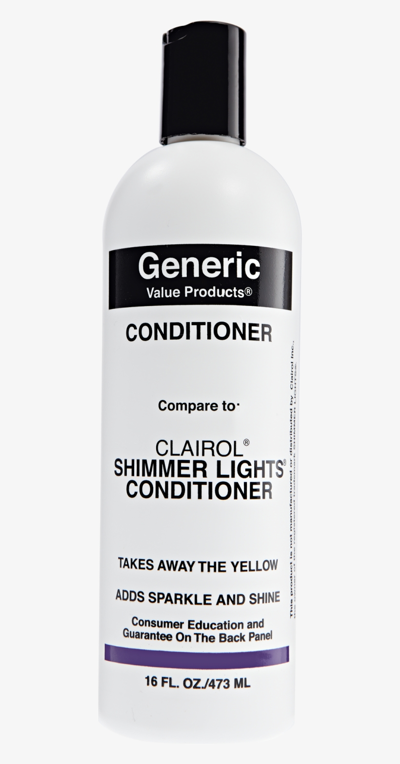 Conditioner Compare To Clairol Shimmer Lights Conditioner - Generic Value Products Tea Tree Oil Shampoo 33.8 Oz, transparent png #4797899