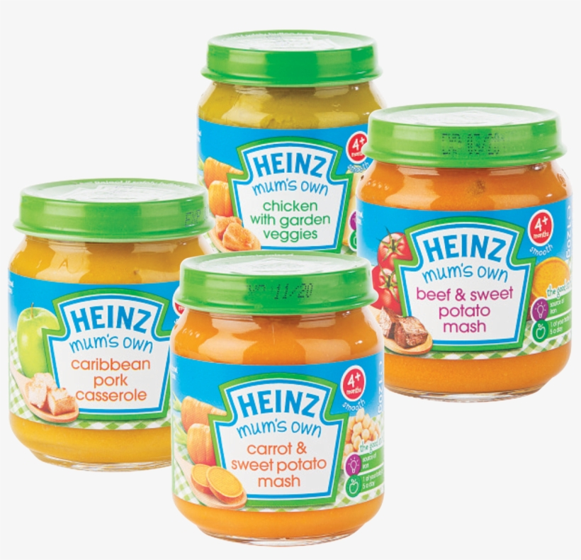 Baby Food Png - Heinz Baby Food 6 Months, transparent png #480168