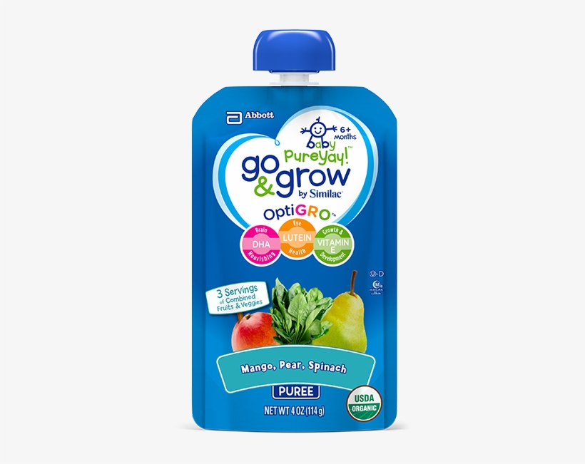 Newlook-logo Baby Food Squeeze Pouch With Pear, Mango - Go And Grow Squeeze Pouch, transparent png #480480
