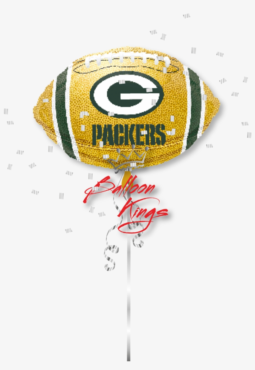 Packers Football - Green Bay Packers Balloon - Football, transparent png #481077