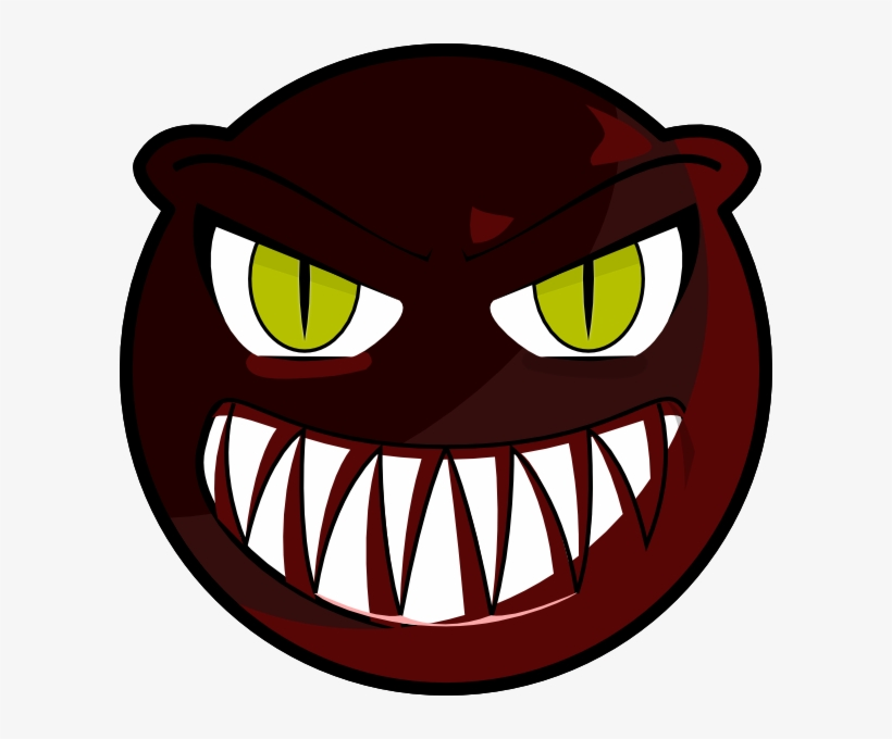 Scary Monster Face Cartoon, transparent png #481220