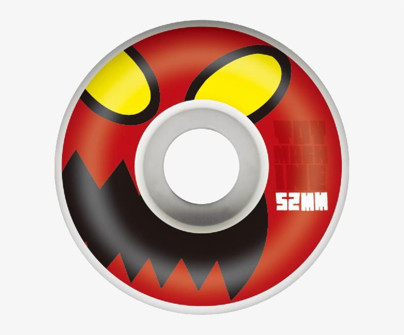 Toy Machine Monster Face Skateboard Wheels - Natural, transparent png #481340