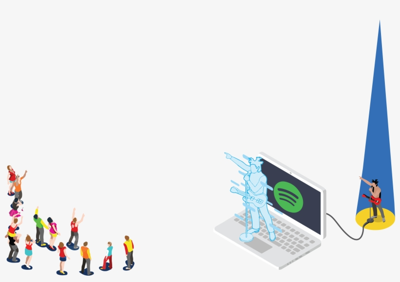 Incorporating Blockchain For Spotify's Payments Positions - Graphic Design, transparent png #482478