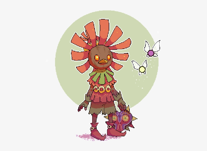 Skull Kid, transparent png #483132