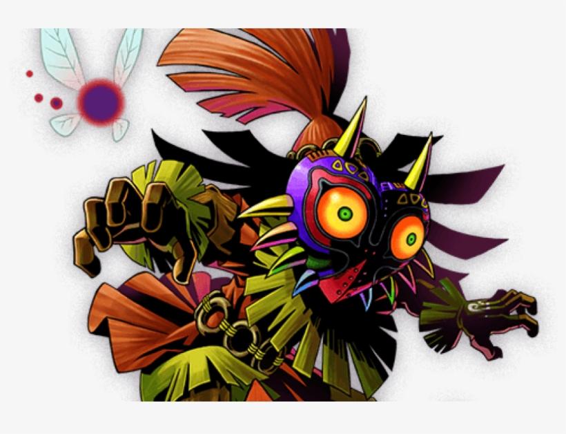 """Skull Kid's Appearance In """"the Legend Of Zelda - Skull Kid Majora's Mask, transparent png #483349"""