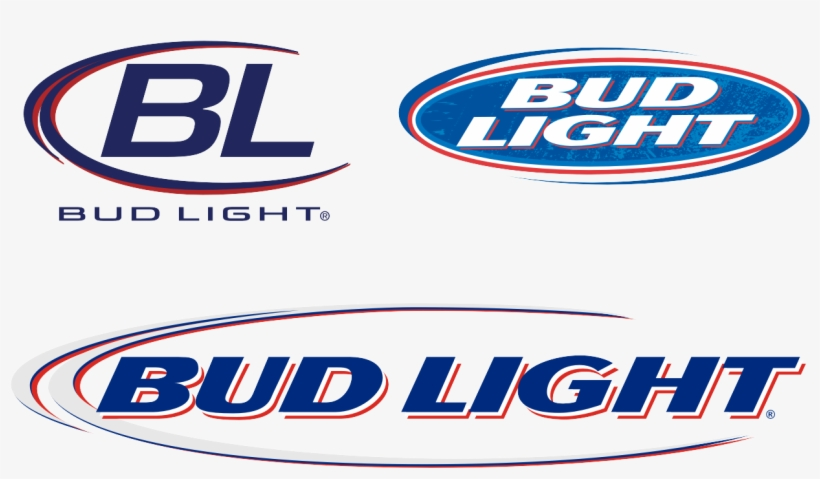 "Clip Art Free Library Bud Logo Font Desktop Backgrounds - Bud Light 12""x4"" Outdoor Decal, transparent png #483513"