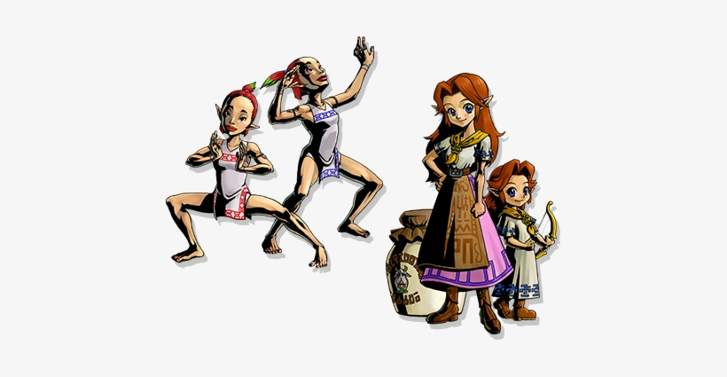 Powers That Can Stop Skull Kid And Prevent The Moon's - Legend Of Zelda Majora's Mask Concept Art, transparent png #483516