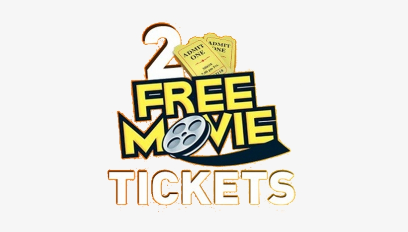 Receive 2 Movie Tickets When You Start A New Monthly - Movie Tickets For 2, transparent png #485797
