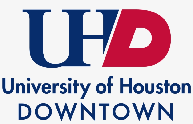 Houston Vector Downtown Svg Black And White Download - University Of Houston Downtown Logo Png, transparent png #486537