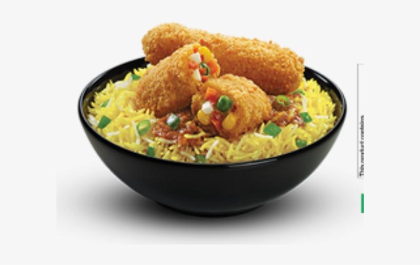 Rice Dish Samples From Kfc, Sagar Ratna Found Unsafe - Veg Rice Bowl Kfc, transparent png #486715
