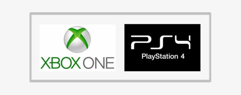 Xbox One Or Playstation 4 Png Logo Xbox One Playstation 4 Logo