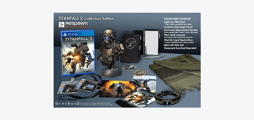 Titanfall™ 2 Marauder Corps Collector's Edition - Titanfall 2 Collector's Edition, transparent png #488597
