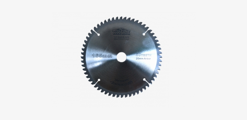 Toolshed Circular Saw Blade Multi Material Tct 165mm - Discos Para Corte De Aluminio De 4 1 2 Pulgadas, transparent png #488990