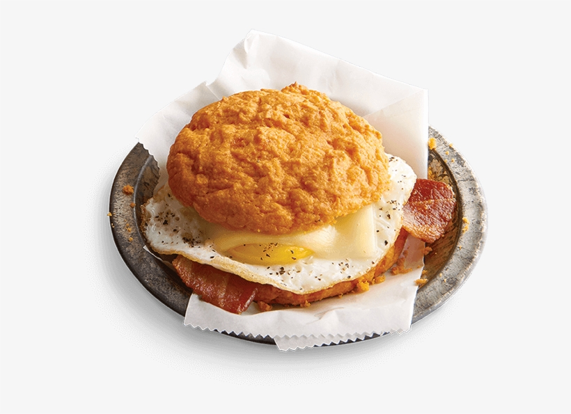A Flaky Drop Biscuit With Sweet Pockets Of Ketchup - Sandwich Cookies, transparent png #4804772