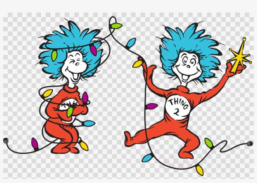 Seuss - Dr Seuss Christmas Clip Art Grinch, transparent png #4807189