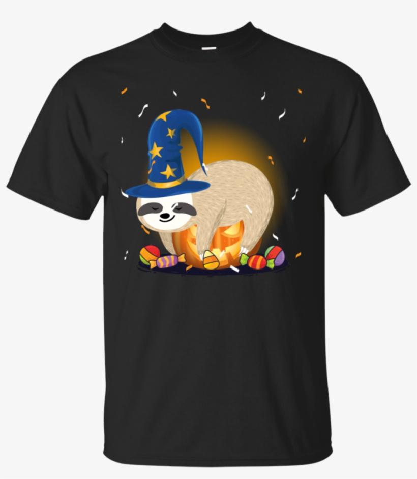 Sloth Costume Halloween Halloween Sloth Pumpkin T-shirt - Adidas Stranger Things T Shirt, transparent png #4811858
