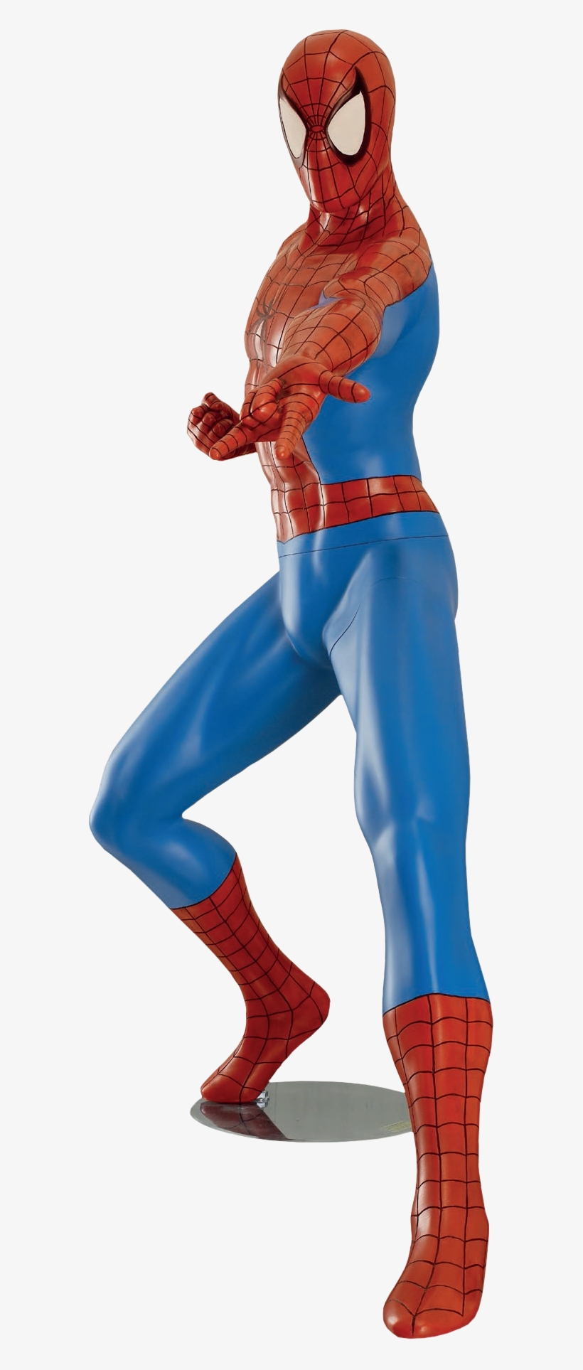 Spider Man Comic - Spiderman Full Size Statue, transparent png #4820706